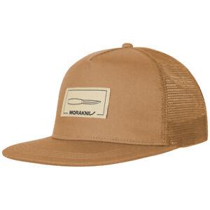 Morakniv Logo Cap Adjustable Mens Acrylic Trucker Casual Outdoor Baseball Brown