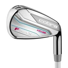 Cobra F-Max Ladies One Length Iron Set 7-PW, Sand Right Hand NEW 10560