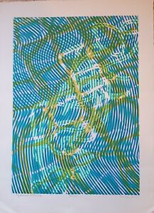 Stanley Hayter,  Limited Edition hand signed lithograph
