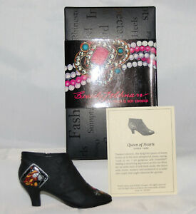 Just The Right Shoe by Raine Shoe Miniatures- Queen of Hearts Boot