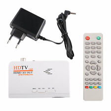 HD 1080P With VGA/ Without VGA Version DVB-T2 TV Box Receiver Remote Control LE