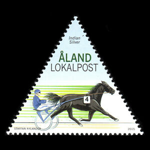 Aland 2015 - Harness Racing Horses - Sc 367 MNH