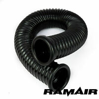 RAMAIR Black Cold Air Feed Ducting Hose Pipe Induction Kits 80mm x 1000mm