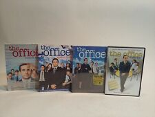 The Office Season 1 - 4 Dvd 1 2 3 4 Steve Carnell Comedy (C2)
