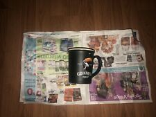Guinness BLACK coffee Mug with Standing Toucan bird 🦅