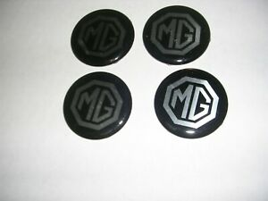 4 NEW  MG WHEEL CENTER DECALS  ,QC A_50 41BW