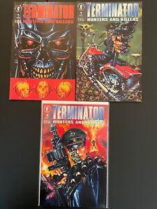 The Terminator Hunters and Killers 1 2 3 High Grade Dark Horse Lot Set D24-87