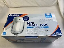 LITHONIA LIGHTING 42 WATT MINI WALL PAK DUSK TO DAWN SECURITY LIGHT WHITE COLOR