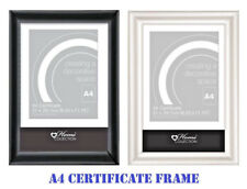 A4 Certificate Frame University Graduation Degree Wall Mountable Free Standing