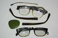 WOW Vintage Mid Century Eyeglasses Junk Lot FOR PARTS OR REPAIR Rare B&L