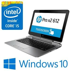 "HP Pro x2 612 G1 2in1 Intel i5 4202Y 4G 128G SSD Modem 12.5"" Touch Win 10 Pro"