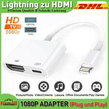1080P Lightning zu HDMI Digital AV TV Kabel Adapter Für iphone 6 7 8 X ipad DHL