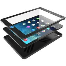 [10pieces/lot] Case For Apple iPad Air 2【Poetic】Dual Layer Protective Case Black