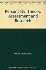 Wie Personality Theory Assessment and Research by Pervin, Lawrence A