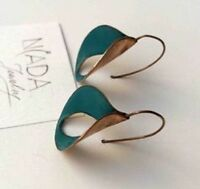 Vintage Boho Silver Jewelry Woman Hoop Earrings Dangle Drop Hook Eardrop Gift