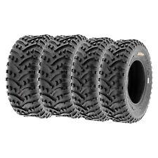 SunF 25x8-12 25x10-12  All Terrain  ATV UTV Tires 6 PR Tubeless  A032 [Bundle]