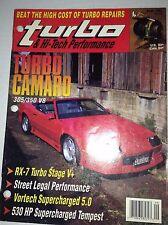 Turbo Magazine Turbo Camaro RX-7 Turbo Stage V+ September 1991 041917nonrh