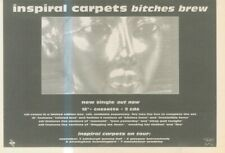 """(ANEW11) ADVERT 7X11"""" INSPIRAL CARPETS : BITCHES BREW"""