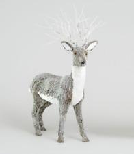 87cm Large Standing Natural Reindeer Figure Christmas Ornament