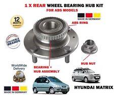 für Hyundai Matrix 1.5 CRDi 1.6 1.8 2001- > NEU 1 x hinten ABS Modell Radlager
