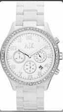 "Armani Exchange Ladies White ""Active"" Chronograph Watch AX5103"