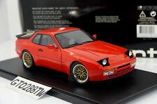 AUTOart 1:18 Porsche 944 Turbo 1985(Guards Red) *Tuned w/BBS LM wheels* 77957