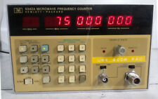 HP 5342A Microwave Frequency Counter(10Hz-18GHz)Opt 001 -For Parts/Repair [Ori]