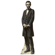 ABRAHAM LINCOLN President Abe Lifesize CARDBOARD CUTOUT Standee Standup Poster