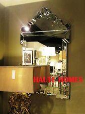 "NEW LARGE 45"" VENETIAN ETCH ORNATE MODERN SCROLL WALL VANITY BEVEL Mirror"