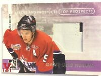 2008-09 ITG Heroes & Prospects Top Prospects Number Keaton Ellerby Vault Red 1/1