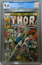 """THOR #257 CGC 9.6 Jack Kirby """"FOR ODIN!"""" """"FOR ASGARD"""" cover 1977 **NO RESERVE**"""