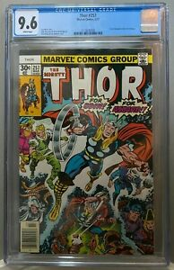 "THOR #257 CGC 9.6 Jack Kirby ""FOR ODIN!"" ""FOR ASGARD"" cover 1977 **NO RESERVE**"