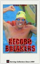 *1996 Australia Dynamic OLYMPIC Trading Cards RECORD BREAKERS R1 Kieren Perkins
