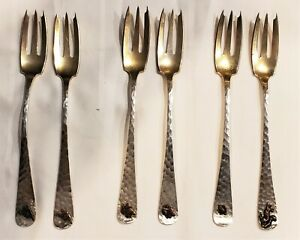 Charles II by Dominick /& Haff Sterling Silver Cold Meat Fork 8 12