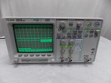 Agilent 54621a Oscilloscope Megazoom With N25757a Interface Amp Calibrated Sticker