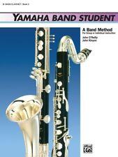 "YAMAHA BAND STUDENT ""BASS CLARINET"" MUSIC BOOK LEVEL 3 ON SALE INSTRUCTION-NEW!"