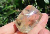 Citrine Healing Quartz Crystal Natural polished healing Cut based Not heated 40g