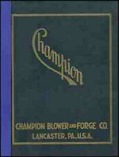 Champion Forge Co. 1935 Catalog BLACKSMITH equipment - reprint
