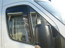 DIV18105 Iveco Turbo Daily 2000-2013 wind deflectors 2pc set TINTED HEKO