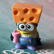 Despicable Me Mineez Series 1 RARE Cheese Festival Cheese Hat Jerry 1-61