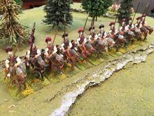25mm painted metal ancient Byzantine medium cavalry, 12 figures