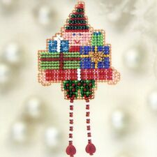 Oli Elf Beaded Christmas Ornament Kit Mill Hill 2012 Winter Holiday