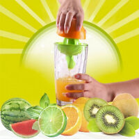 Mini Juice Maker Squeezer Fruit Orange Citrus Lime Lemon Hand Held Manual Tool