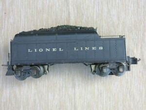 PREWAR LIONEL NO.2224W WHISTLE COAL TENDER 1937-42 *** NICE!