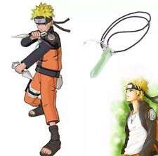 Naruto Green Crystal Anime Tsunade Necklace Pendant Cosplay US Seller
