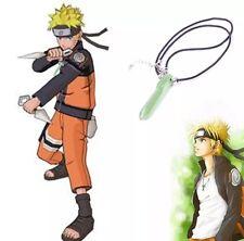 Naruto Green Crystal Anime Tsunade Necklace Pendant Cosplay US Seller
