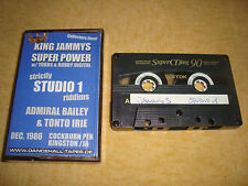 KING JAMMYS SUPER POWER, TUBBS & BOBBY DIGITAL - Studio 1 (Tape) Dancehall-Tapes
