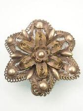No Stone Silver Brooch/Pin Art Deco Fine Jewellery