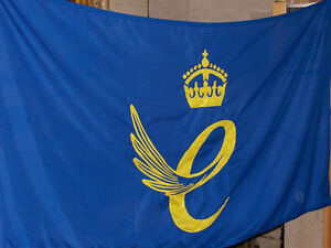 queens award sewn flag - Quality heavy duty outdoor flag-rope and toggle