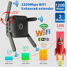 WiFi Extender Range Signal Booster Network Repeater 1200Mbps Wireless Amplifier